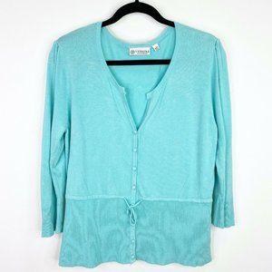Versona Accessories Cardigan Sweater Shirt Top L